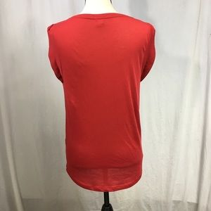 J. Crew Tops - J. Crew Basic Red Tee Size Small